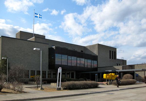 Ministère de la justice - Amos courthouse