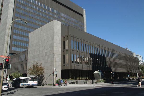 Ministère de la justice palais de justice de montréal