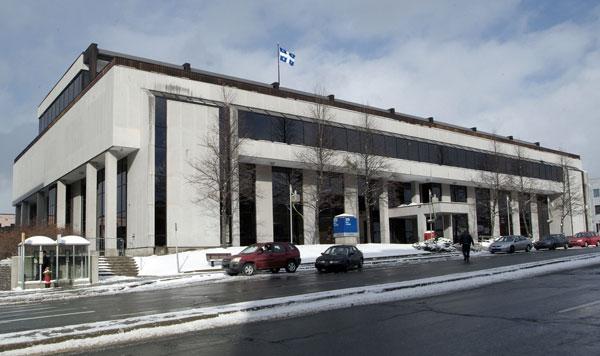 Ministère de la justice - Sherbrooke courthouse